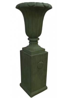 Fleur de Lys Urn & Pillar