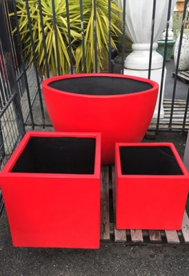 Custom Painted Planters