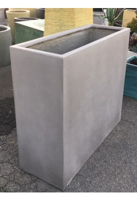 Tall Rectangular Trough Planters