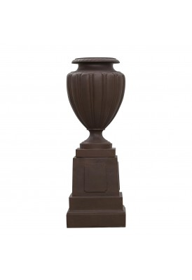 Medici Urn on Plinth