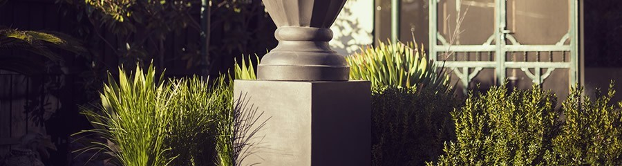 Modern Garden Pillars to Enhance your Pots and Plants Pots R Us
