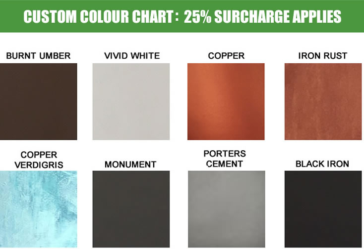 Custom Colour Range