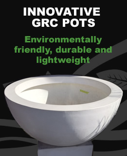 Durable GRC Garden Pots