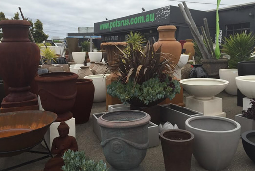 Largest range of indoor outdoor garden pots in melbourne pots r us 487 489 warrigal rd moorabbin workwithnaturefo