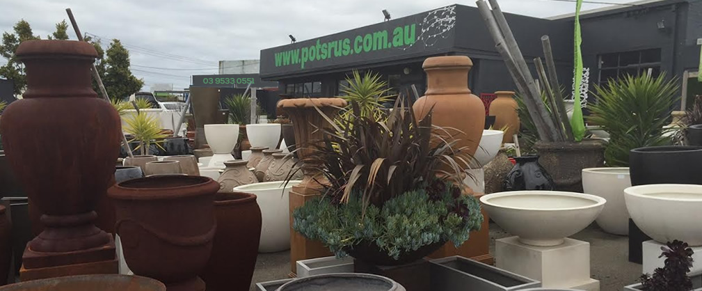 Pots R Us are one of Australia's leading suppliers of garden pots