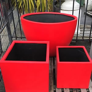 Custom Painted Pots